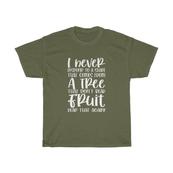 Funny Customised Unique Expression Sarcasm Unisex Heavy Cotton T-shirt 1
