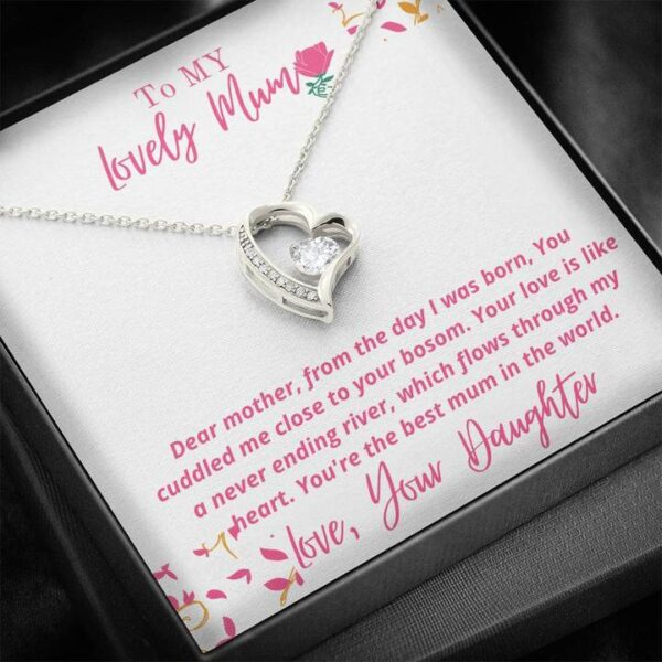 Best Mothers Day Gift For Mums - Forever Love Necklace1g